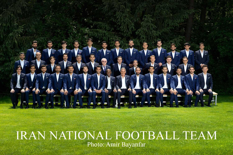 عکاسی از تیم ملی